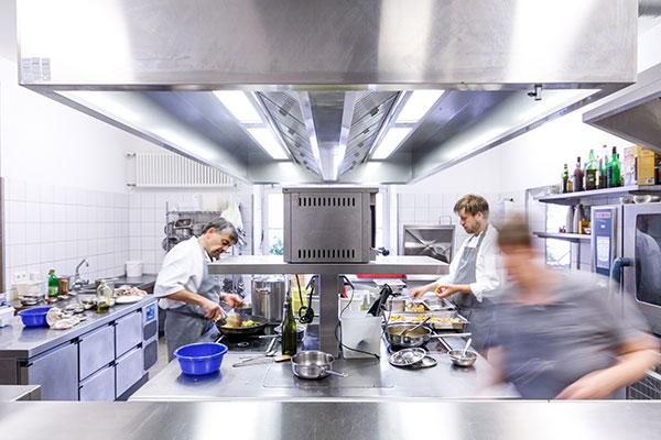Restaurant Posthorn Kueche