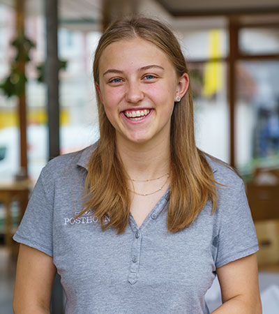 Posthorn-Team: Sabrina