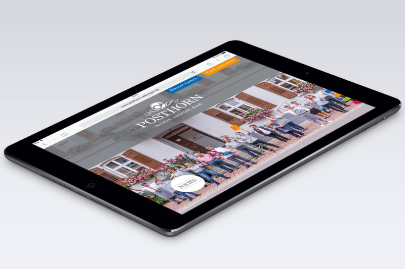 Posthorn Aktuelles - Neue Website
